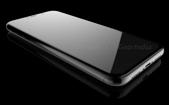 iPhone8 3Dレンダリング