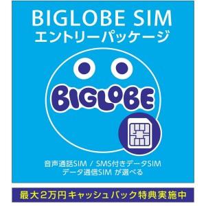BIGLOBE SIMエントリーパッケージ