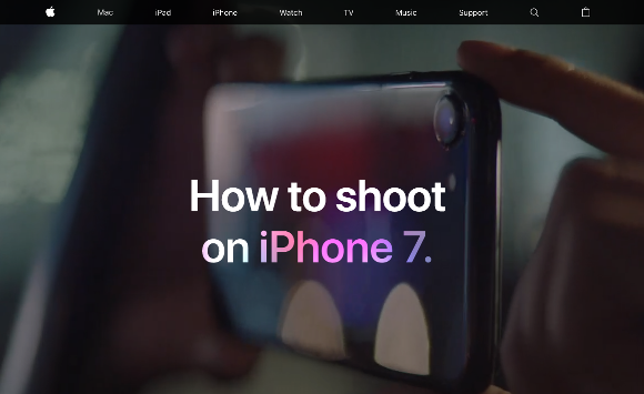 Apple How to shoot on iPhone7