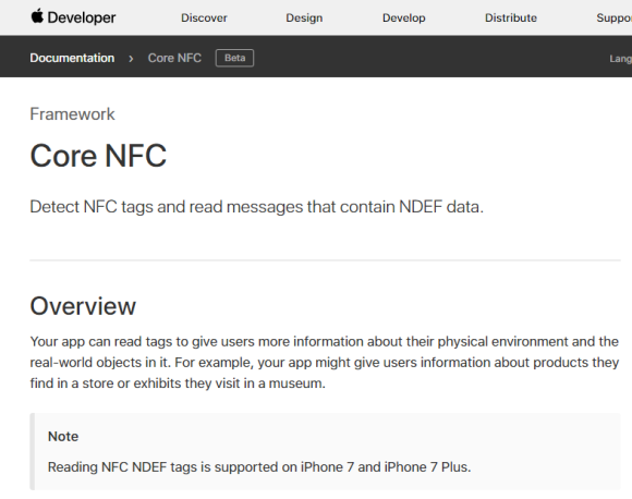 Core NFC