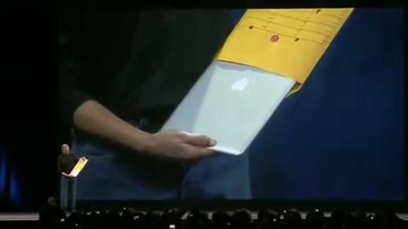 MacBook Air スティーブ・ジョブズ