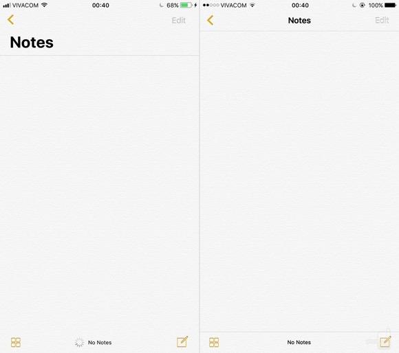 iOS11 iOS10 比較
