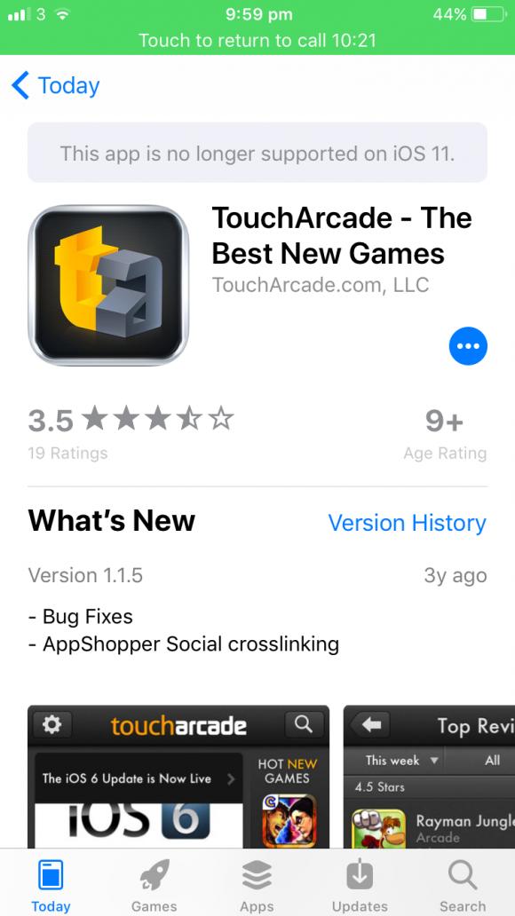 iOS11 32ビット アプリ