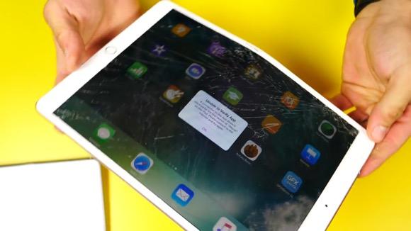 iPad Pro 落下・折り曲げテスト