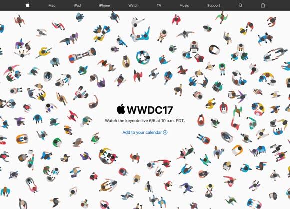 WWDC17 一般向け 特設サイト