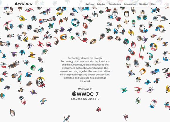 WWDC17 開発者向け 特設サイト