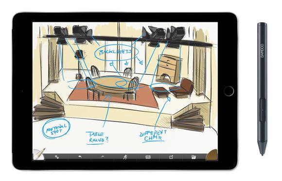 ワコム iOS スタイラス iPhone iPad