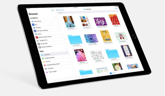 iOS-11 iPad Files