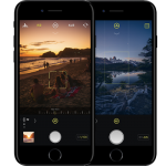 iPhone カメラ アプリ Halide Apple Twitter