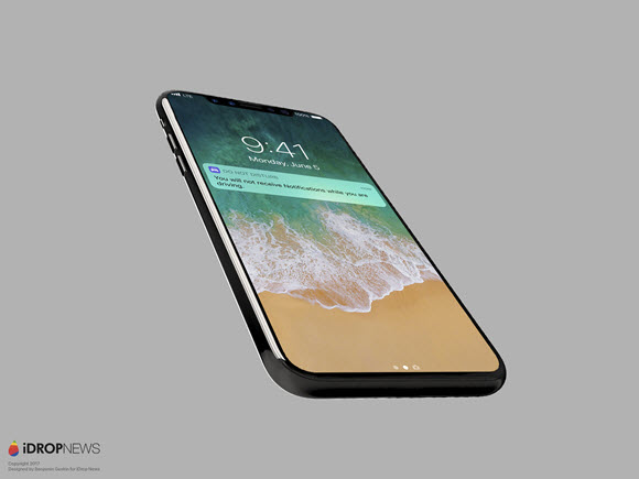 iPhone X iPhone8 iOS11 イメージ iDrop News
