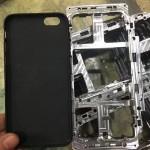 iPhone8 金属フレーム 金型 リーク