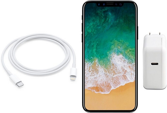 iPhone8 USB-C 急速充電