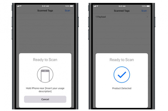 NFC apple 決済 core nfc