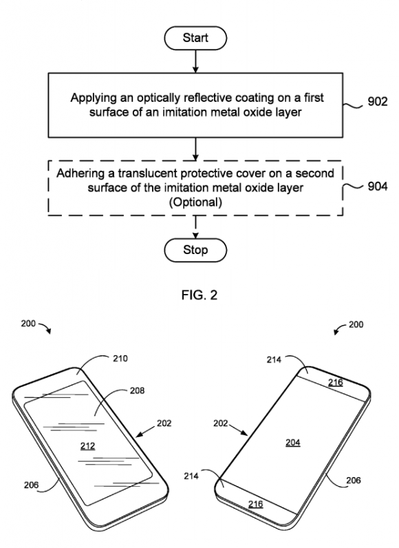Apple 光学的反射層 特許