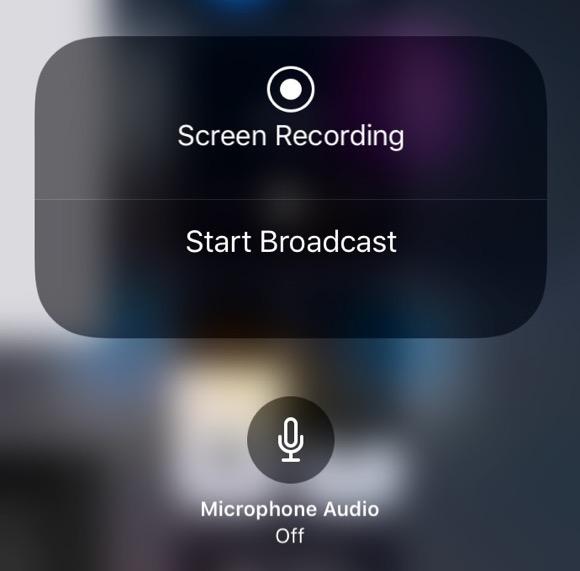 iOS11 配信を開始(Start Broadcast)