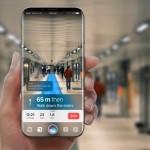 iphone8 コンセプト  ar マップ siri