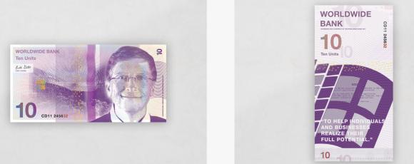 企業 google microsoft apple strabuck 紙幣