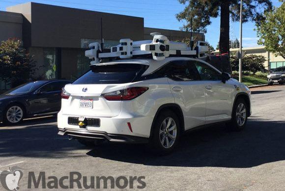 Apple Lexus 自動運転車