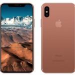 iphone8 ブラッシュゴールド コッパーゴールド