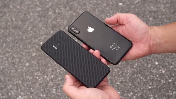iPhone8 モックアップ Galaxy S8