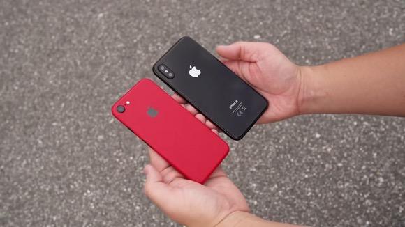 iPhone8 モックアップ iPhone7