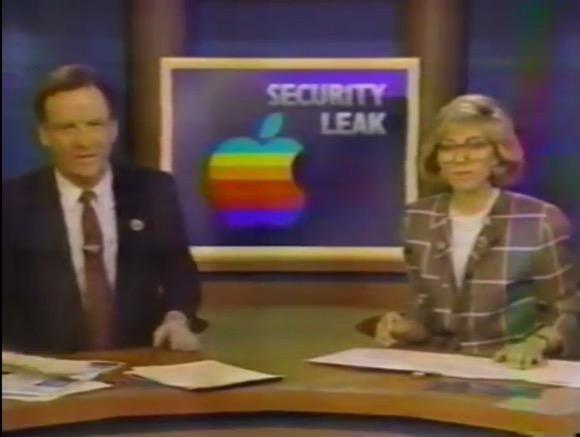 Apple リーク 1988