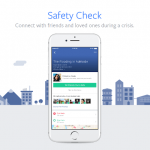Facebook Safety Check 安全確認