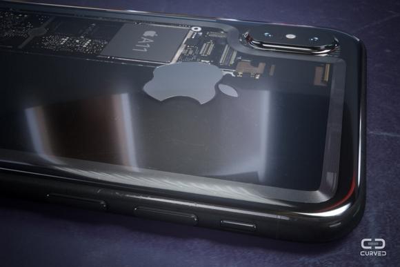透明 iPhone8 CURVED