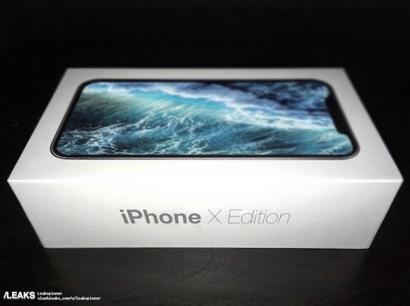 iPhone X Edition 外箱