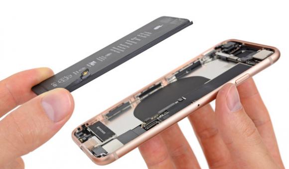 iphone8 バッテリー