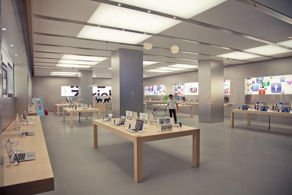 Apple Store店内