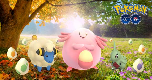 Pokemon Go秋分のイベント
