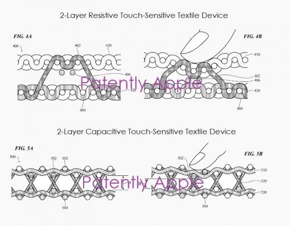 apple スマート衣料 特許