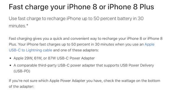 Apple 高速充電