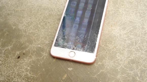 iPhone8 Plus 落下テスト