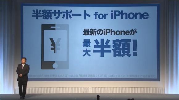 半額サポート for iPhone ソフトバンク