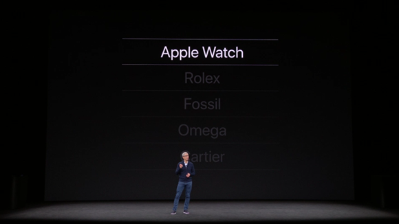 Apple Watch 1位