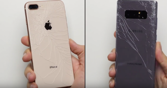 iphone8 plus 実験 動画