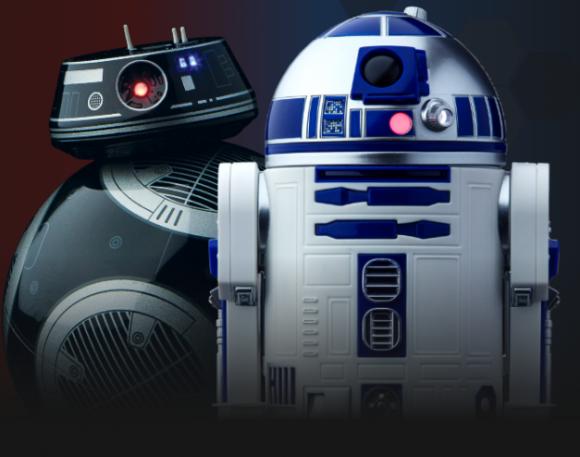 R2-D2とBB-9E