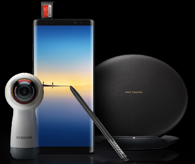 Galaxy Note8のキャンペーン付属品