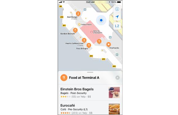 iOS11 インドアマップ