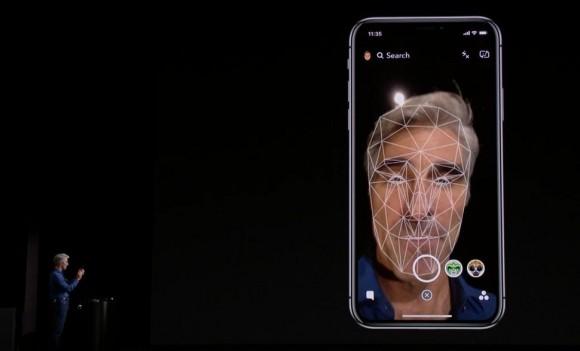 face id 顔認証 iphone x