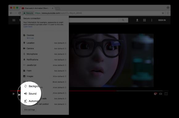 Chrome 自動再生