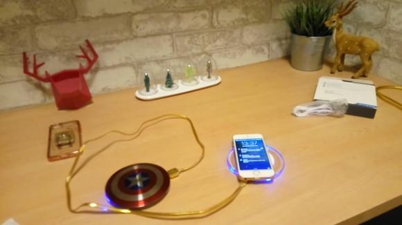 ワイヤレス充電