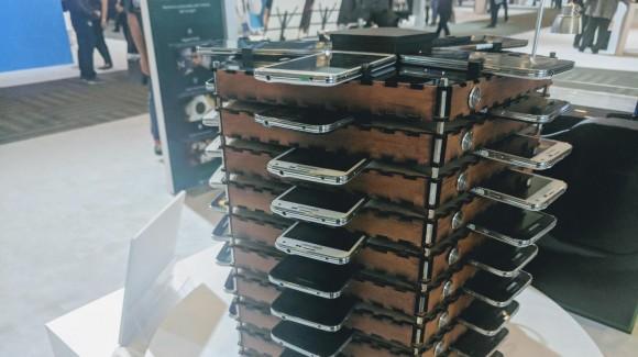 Galaxy S5を使用したビットコインマイニングマシン
