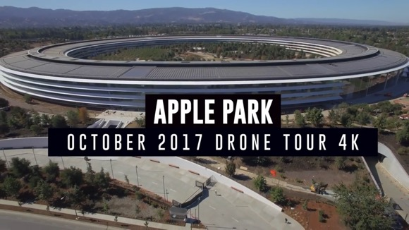 Apple Park 2017年10月