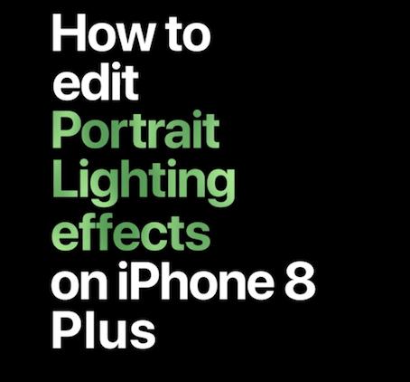 ポートレート照明 編集 iPhone X iPhone8 Plus YouTube