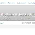 Google Play Security Reward ProgramHP