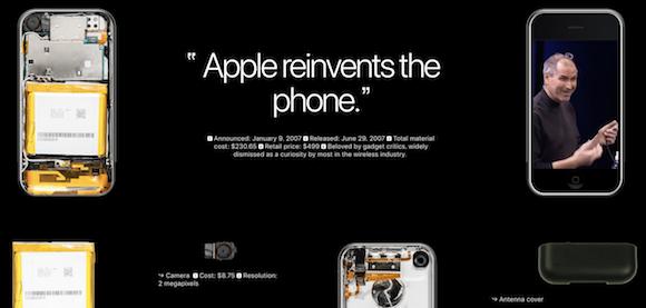 初代iPhone Bloomberg