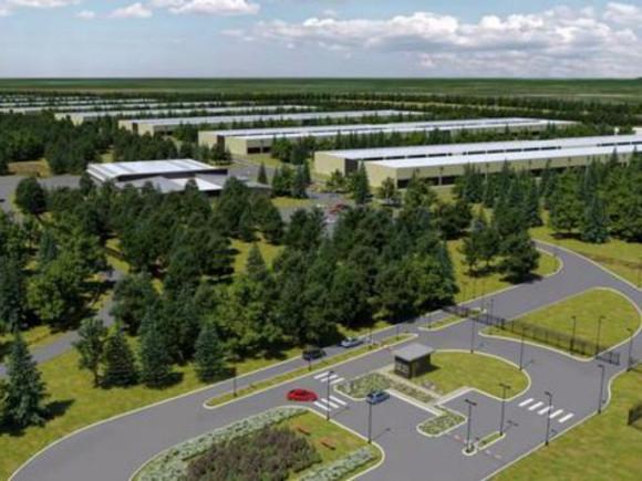 apple データセンター
